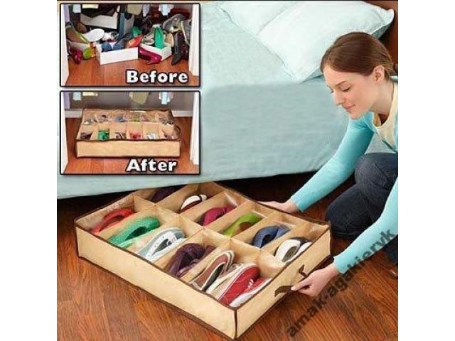 Органайзер для обуви Шузандер (Shoes Under) - отличное решение для...
