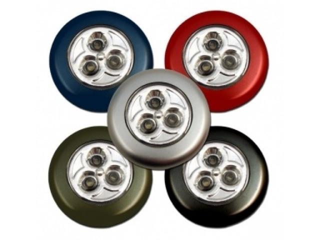Lampka Dotykowa Touch Lamp 3 Led Na Baterie
