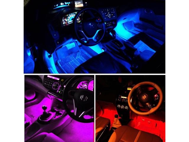 Oświetlenie Wnętrza Auta Rgb Led 4x9led Cbmchhpl