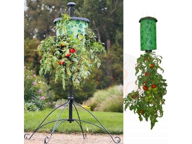 K525 Wisząca Doniczka Na Kwiaty Pomidory