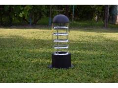 Lampa spirala ogrodowa 1xE27 230V led 33CM USA MOD