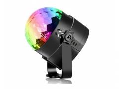KULA DYSKOTEKOWA DISCO LED PROJEKTOR RGB LED PARTY