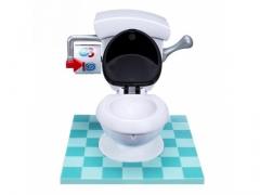 Wesoła Gra Rodzinna SZALONA SPŁUCZKA Toaleta WC