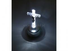 Krzyż podświetlany LED sredni 6991w/240