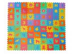 PUZZLE PIANKOWE MATA 72ELEMENTY CYFERKI ALFABET P3