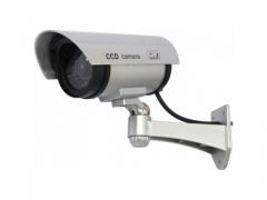 Kamera atrapa  - profesjonalna zewnętrzna LED IR