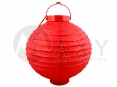 Lampion wiszący 30 cm na baterie do ogrodu domu