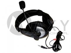 Słuchawki duże z mikrofonem