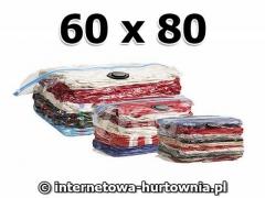 Worki próżniowe 60 x 80 worek pokrowiec na ubrania
