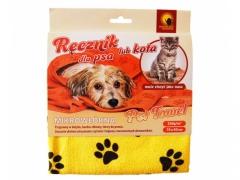 Ręcznik z mikrowłókien dla psa lub kota