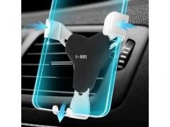 Uchwyt grawitacyjny na kratkę nawiewu samochodowy