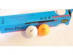 Piłeczka do tenisa stołowego 6 sztuk