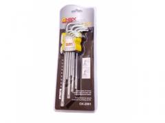 Zestaw kluczy TORX T10-T50 9 sztuk 95-220mm klucze
