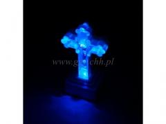 Krzyż podświetlany LED duzy 30764/144