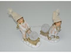 CHRISTMAS - Figurki porcelanowe 8308/48