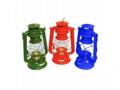 1. LAMPA NAFTOWA RETRO 28 METALOWA Z UCHWYTEM LAMP