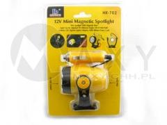 Lampka samochodowa 12V z magnesem 5LED