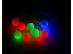 CHRISTMAS - Lampki na baterie kulki 204/100 KULKI