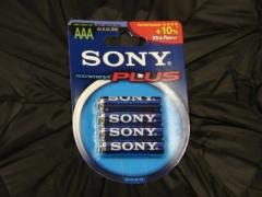 Bateria R3 Sony Alkaline