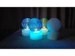 Lampka led dekoracyjna Cotton ball 4cm