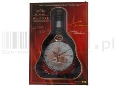 Zegar ścienny wino