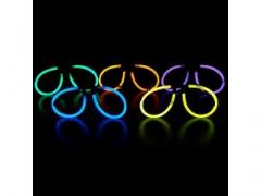 Okulary świecące chemiczne - różne kolory