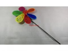 Wiatraczek plastikowy biedronka 49cm