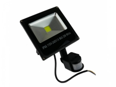 HALOGEN LED 20W + CZUJNIK NAŚWIETLACZ LAMPA