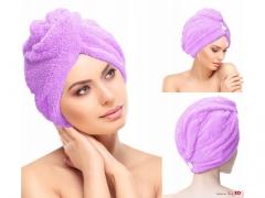 Ręcznik na głowe z mikrofibry turban