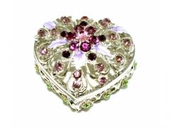 Serce dekoracyjne + cyrkonia 11430