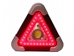 LAMPA TRÓJKĄT OSTRZEGAWCZY AWARYJNE KOGUT LED SOS