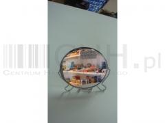 Lusterko '6 metal dwoch stronnowe lustro
