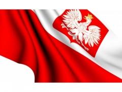 FLAGA  POLSKA  SAMOCHODOWA  3991