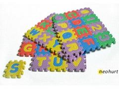 Puzzle piankowe małe 36szt zabawka mata piankowa