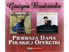 Brodzińska - Pierwsza Dama Polskiej Operetki 2CD