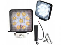 Halogen lampa robocza 9 led 27W 12-24V