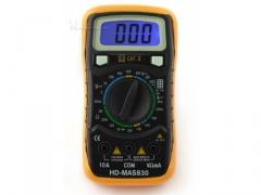 Miernik HD-MAS830 multimetr z podswietleniem