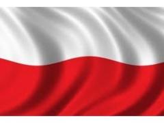 FLAGA  POLSKA  SAMOCHODOWA  500