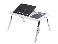 E-TABLE - składany stolik pod laptop + chłodzenie