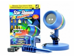 PROJEKTOR LASEROWY RUCHOMY STAR SHOWER MOTION
