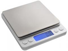 Waga gramowa PRECYZYJNA jubilerska 2000g 2kg/0,1g