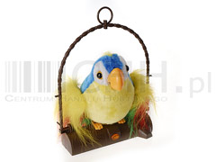Zabawka papuga gadająca duża
