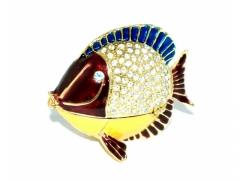 WYPRZEDAZ - Ryba dekoracyjna + cyrkonie 132