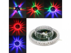 Lampa UFO dyskotekowa led efekt disco laser rgb