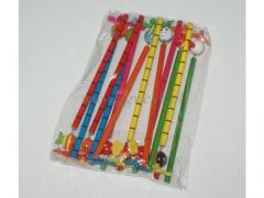 SUPER CENA - Ołówek drewniany mix 12