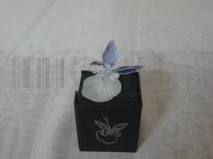 Figurka motyl kryształowy