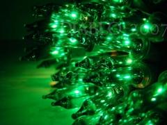 Lampki Choinkowe 200 gruby kabel zielone