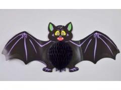 Zawieszka nietoperz na halloween gacek 60cm (