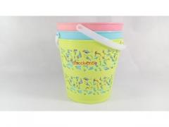 Wiaderko koszyk plastikowy - różne kolory