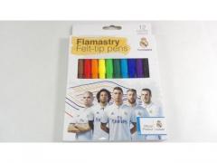 Flamastry mazaki 12 szt Real Madryt
